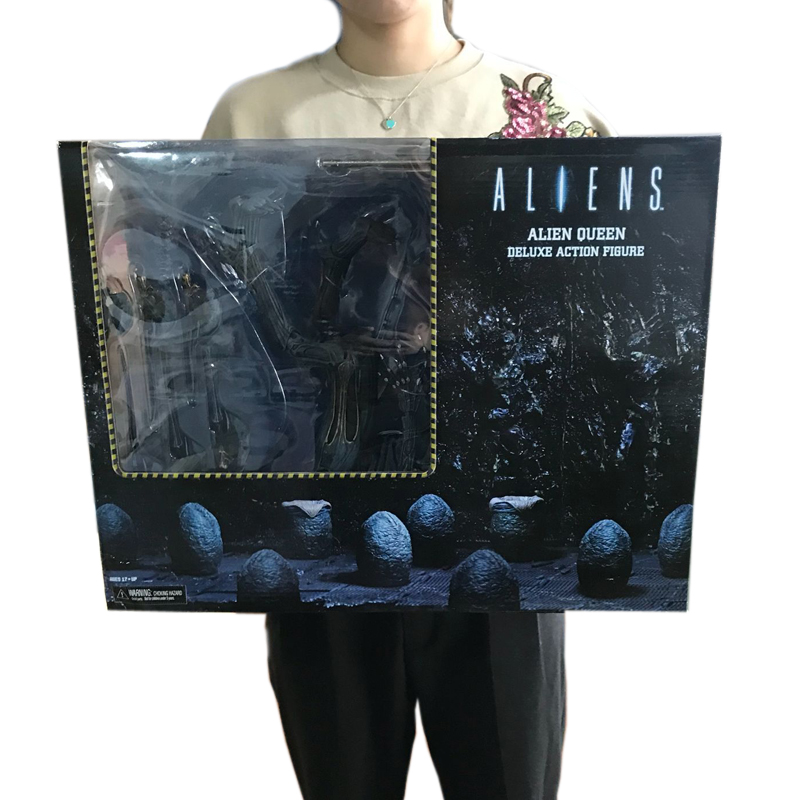 Grande taille NECA ALIEN Queen Deluxe 16 pouces PVC Figure modèle jouets 38 cm