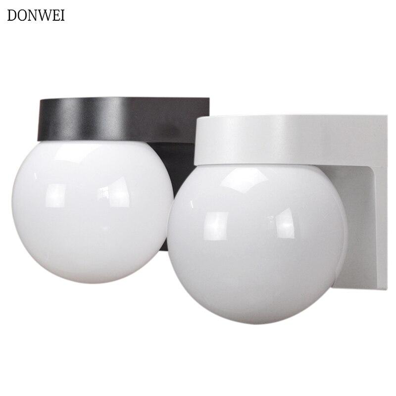 Donwei E27 Led Wall Lamps Acrylic Gl