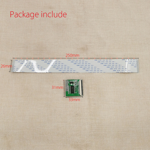 Image 5 - For A201SN02 LC201V1 V201V1 T01 LVDS Turn TTL Adapter Plate 0.5mm 50 Pin FFC FPC LVDS Conversion board For v290 v56 LCD Controll