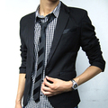2016 Chegada Nova Primavera Outono Blazer Terno Homens Blazers Casual Jacket Slim Fit Mens Jaquetas Blaser Masculino Plus Size S-XXXL