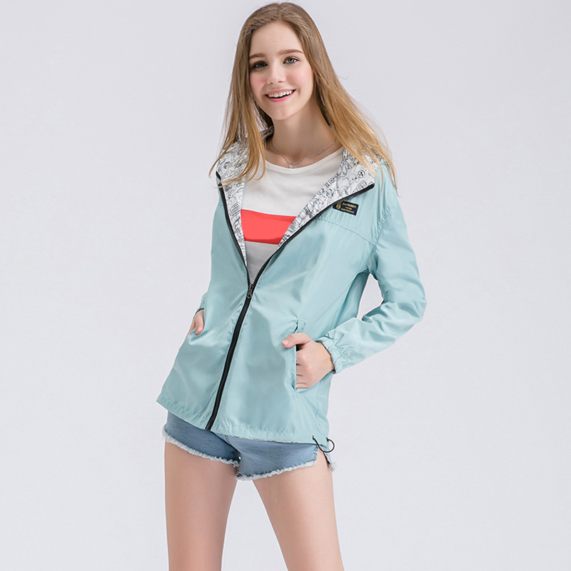 Brand Spring Mom Thin Hooded Jackets Casual Sunscreen Hoodies Both Sides to wear Pregnant Coat Size XS-2XL Maternity clothes