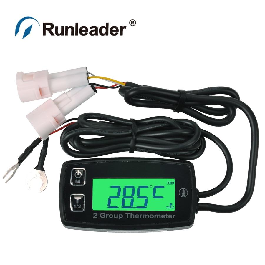 TS002 PT100 20 300 2 temp sensor TEMP meter thermometer for pumps ATV pit bike jet