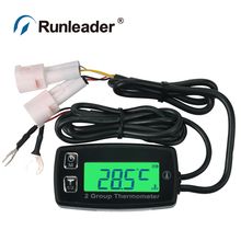 TS002 PT100 -20 +300 2 temp sensor TEMP meter thermometer for pumps ATV pit bike jet ski motocross traffic crane forklift