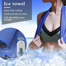 cooling towel Ice Towel women cooling Gym Jogging Enduring Running Instant Ice Cold  Pad Cooling Sweat Tool beach towel 1500ml cooling ice packs