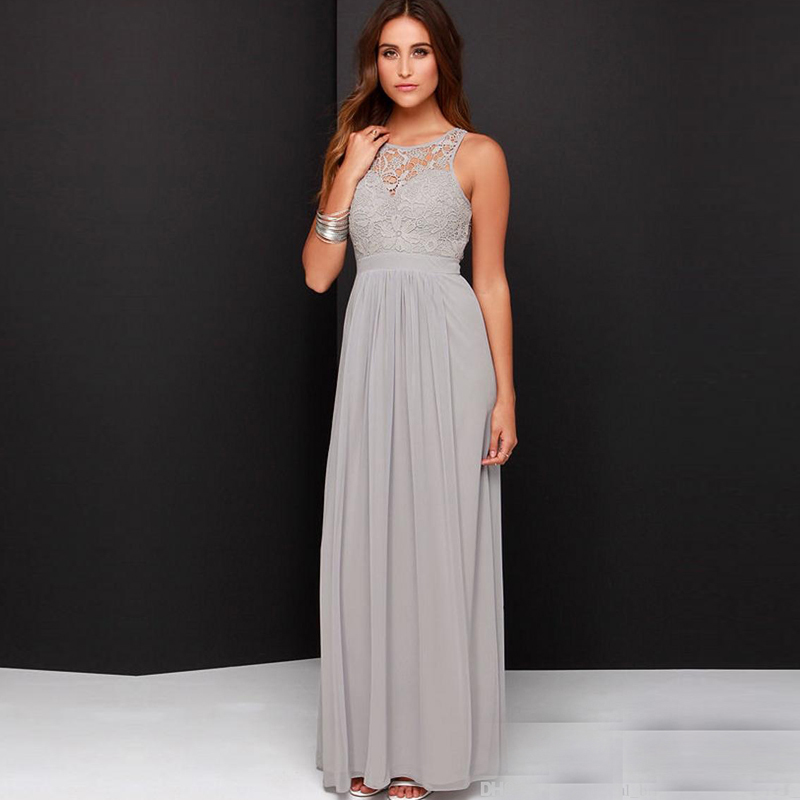 Online get cheap gray bridesmaid dresses for Wedding dresses boston cheap