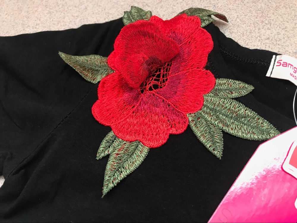 SAMGAMI-BABY-New-Embroider-Design-Black-Short-Sleeve-Dresses-Fashion-Cute-Girls-Clothes-Summer-Toddler-Girl-Dresses-Size-80-120-4