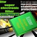 Для Kia Spectra5 все двигатели Электронный Супер-фильтр чипы производительности автомобиля пикап экономии топлива стабилизатор напряжения