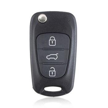 Chiave Telecomando per Kia K2 K5 Sorento Sportage 3 Tasti 433MHz ID46 1