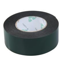 SOSW-Multifunction Black Sponge Foam Double Sided Adhesive Tape (50mm*10m)