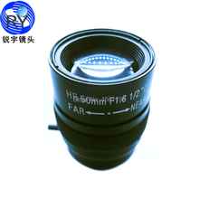 Объектив F1.6 для камер видеонаблюдения 50мм 1/2 дюйма