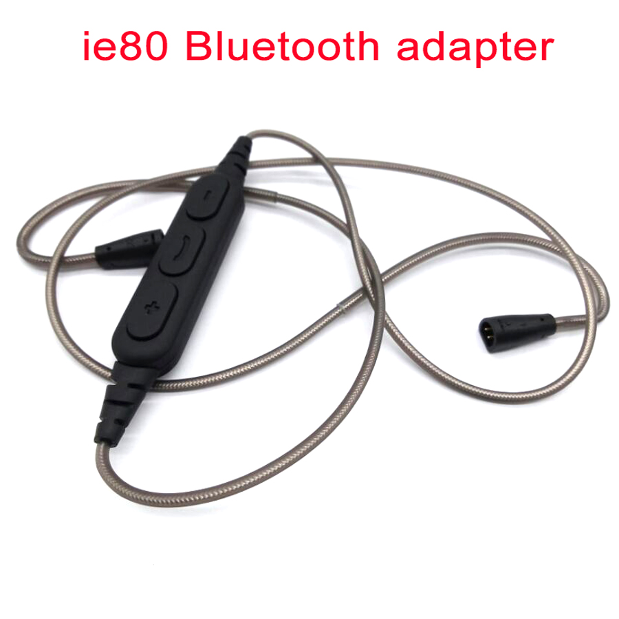 for Sennheiser earphone ie80 ie8i ie8 DIY Replacement Bluetooth 4.1 Adapter Cable Upgraded Headset Headphone Audio Cables Wire наушники sennheiser ie 4