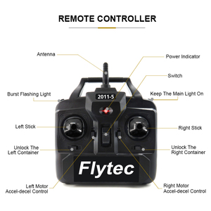 Image 3 - Flytec 2011 5 Fishing Tool Smart RC Bait Boat Toy Dual Motor Fish Finder Remote Control Fishing Boat Speedboat 500 Meters