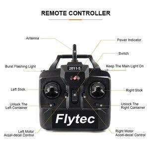 Image 3 - Flytec 2011 5 เครื่องมือตกปลาสมาร์ท RC เหยื่อเรือของเล่นมอเตอร์ Fish Finder รีโมทคอนโทรลตกปลาเรือ Speedboat 500 เมตร