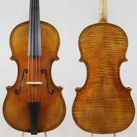 Baroque Violin,Giovanni Paolo Maggini 4/4 Violin Copy!Old Spruce Antiqued oil vamish.Free Shipping!European wood!