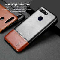 6.4'' Honor View 20 Leather Case Funda Huawei Honor View 20 Case IMAK Concise Slim Back Shell for Huawei Honor View20 Cover V20