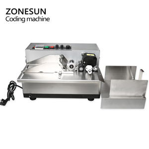 Image 2 - ZONESUN MY 380 coding machine Semi Automatic Solid Ink Date Coding Machine, automatically continuous date coding machine