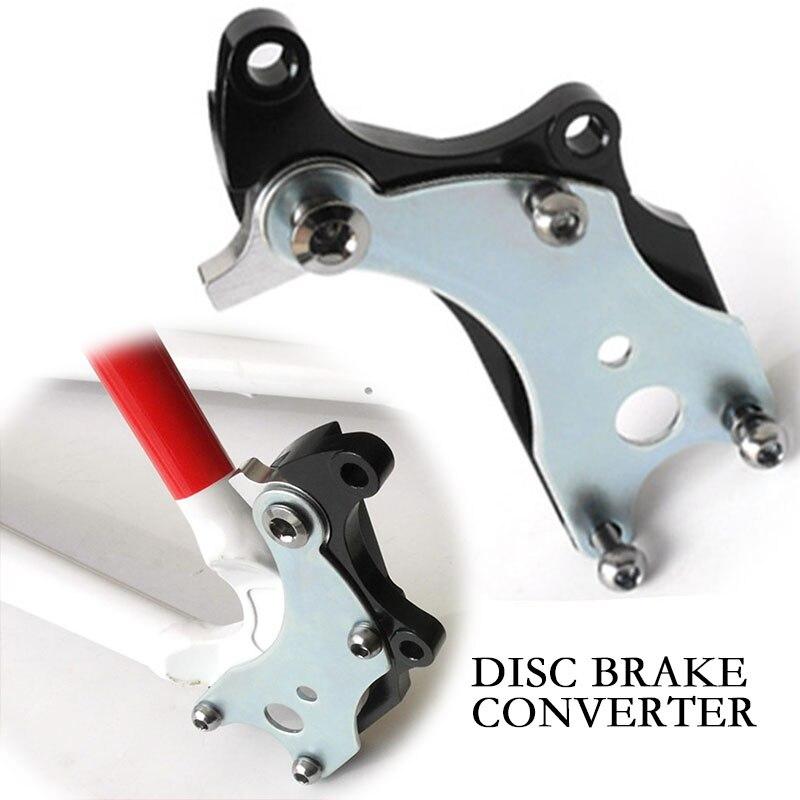 MUQZI vélo de route pas de disque fixe siège cadre frein à disque Conversion siège Modification huile plat fil plat pas besoin de changement cadre