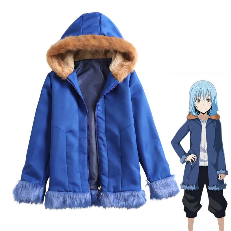 Rimuru Tempest Jacket Cosplay Costume That Time I Got Reincarnated as a Slime Spring Autumn Women Fashion Casual Hooded Hoodie