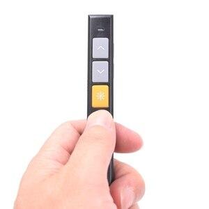 Image 4 - PPT 赤色レーザーポインターリモコン、 2.4 グラム Usb プレゼンターのための電力点、 microsoft office 、 prezi 、基調講演