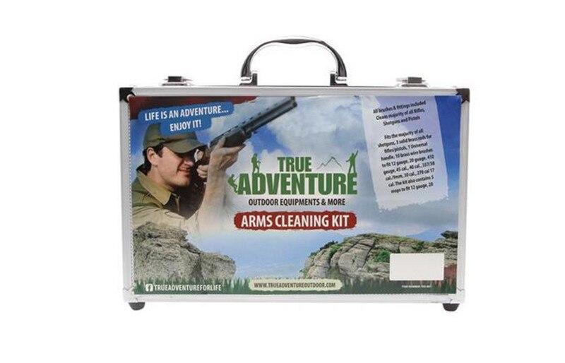Правда чистка Приключения комплект хорошего качества 26шт/комплект охотничьи принадлежности Щетка для очистки инструмента пистолет.