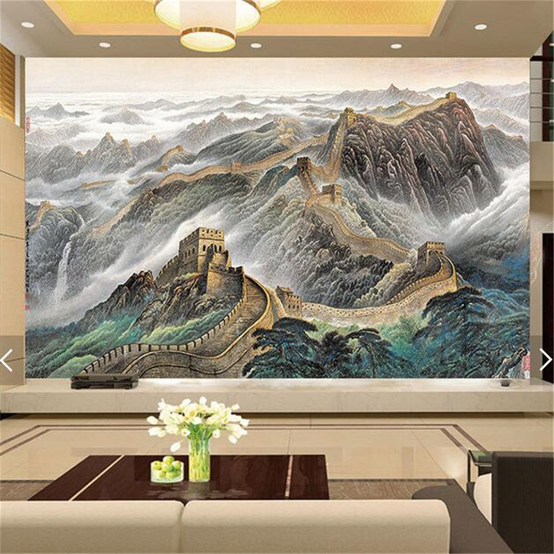 compare prices on chinese wallpaper murals great wall- online