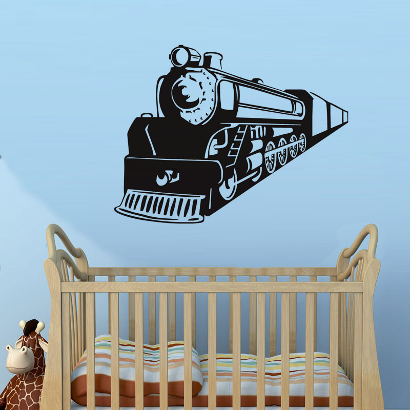 Interesting Travel Train Vinyl Wall Decals Home Decor For Bedroom  Decoration Waterproof Art Mural In Wall Stickers From Home U0026 Garden On  Aliexpress.com ...