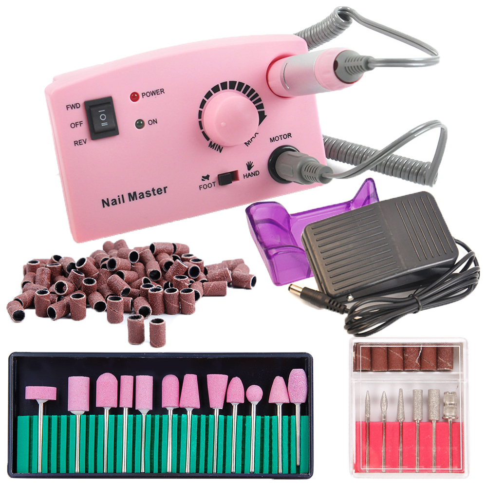 Electric Apparatus for Manicure 30000RPM Nail Polish Machine Nail Art Equipment Cutters for Manicure Nail Drill Milling Machine new pattern beautiful first charge polish manicure machine portable 30000 high capacity nails drill nail art equipment