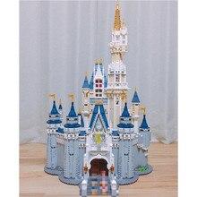 LEPIN 16008 Золушка Принцесса замок город Набор Модель Строительный блок Малыш DIY игрушка смешной день рождения совместимый 71040