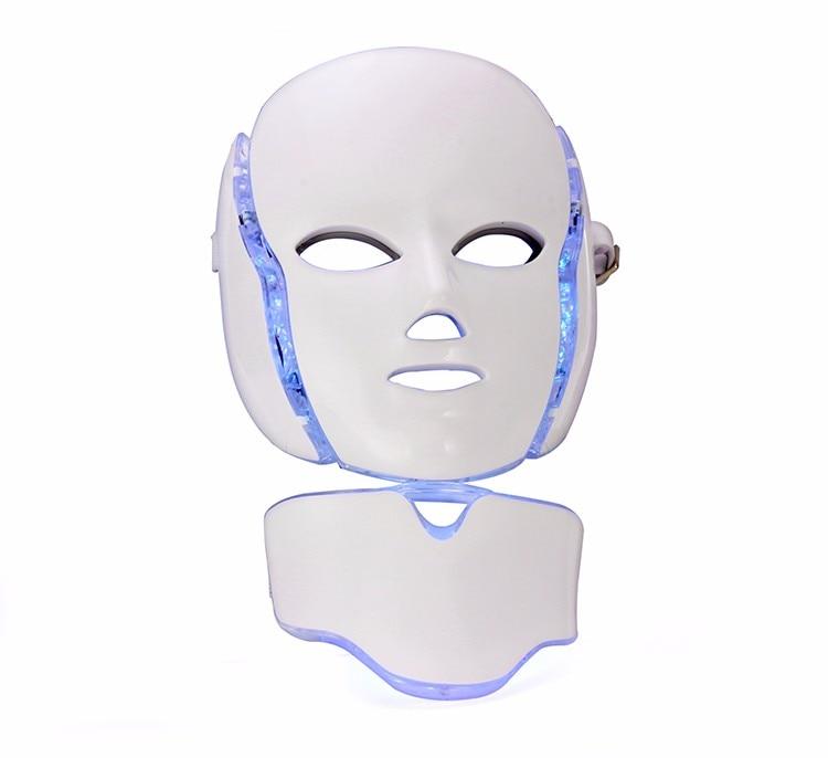 X-LASH LED Facial Mask 7 Color Neck Skin Rejuvenation Face Care Treatment Micro-current Electric Facial Beauty Machine