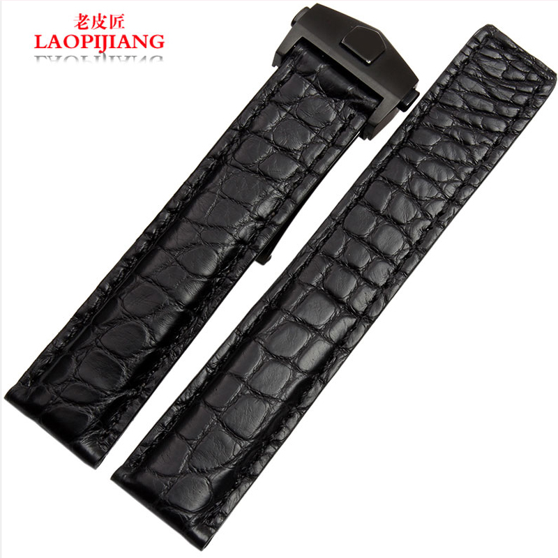 Laopijiang Authentic watch with alternative high-grade alligator leather strap inheritance 19/20/22mm footprint reading library 3000 alternative energy [book with multi rom x1 ]