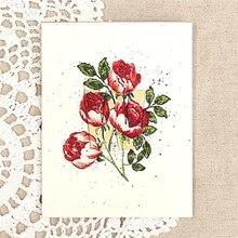 Naifumodo Sweet Rose Bouquet Dies Set Spring Flowers Metal Cutting Cut Clear Stamps Gift Box Card Making Frame DIY