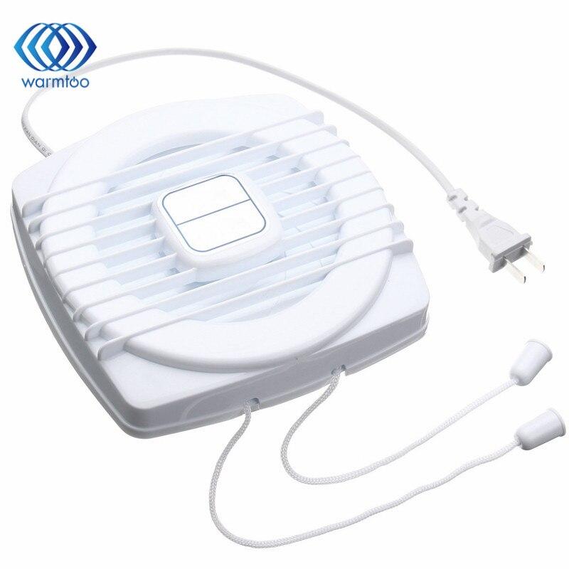 Mini white exhaust fan ventilation blower window wall for 12 inch window exhaust fan