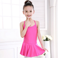 2018 New Hot Ballet Dance Tank-Tops dance and performance Open&Closed Crotch 3Colors Disfraces Leotard For Girl Kids No Headwear