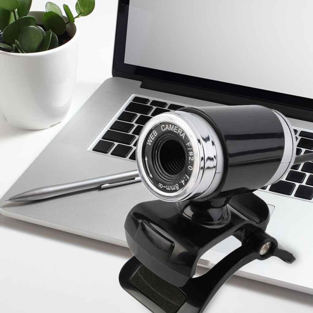 USB HD Webcam Web Cam Camera Manual Adjustable Webcam For Computer PC Laptop Desktop