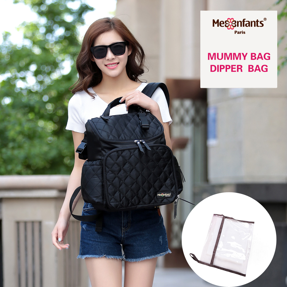 Large Diaper Bag Backpack Waterproof Baby Bag Organizer Stroller Nappy Bags Mom Backpack Mother Maternity Bags Diaper Backpack colorland brand baby stroller bag baby for mom diaper bag organizer nappy bags for pram maternity mother bags diaper backpack