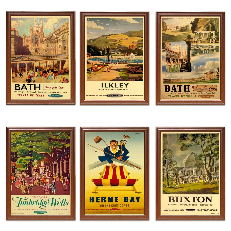 Vintage British Rail Royal Tunbridge Wells Railway Poster A3//A2//A1 Print