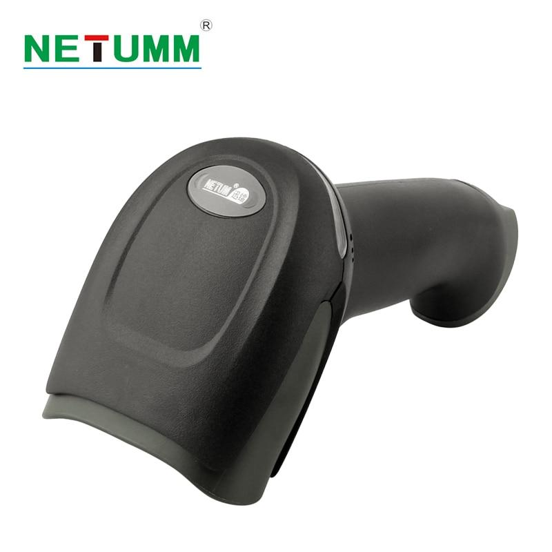 Wireless barcode Scanner NT-lungo raggio portatile del telefono 433 Mhz di codici a barre laser scanner per l'inventario lettore USB mobile payment