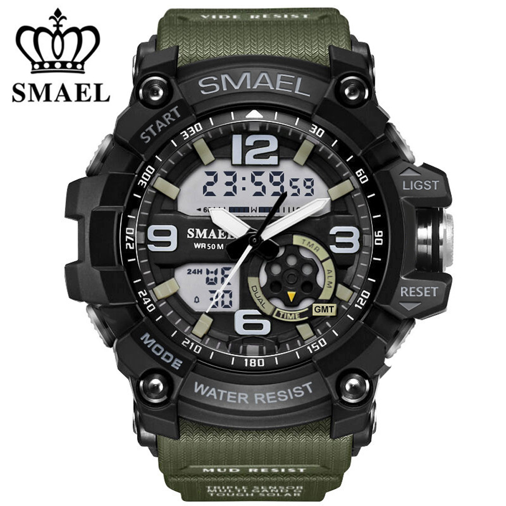 Fashion G Style Sport Super Cool Men's Quartz Digital Watch Men Sports Watches Luxury Brand LED Military Waterproof Wristwatches