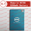 Vkworld VK700 Battery 100% Original 3200mAh Li-ion Battery Replacement For Vkworld VK700 Pro Smart Phone With Free Shipping