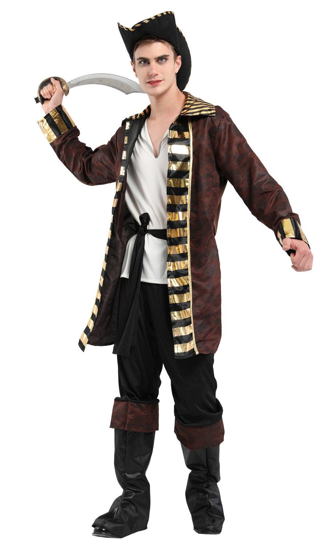 Histoire de Shanghai Costumes de Pirate hommes adultes costume complet tenue Halloween carnaval fête Cosplay Costumes