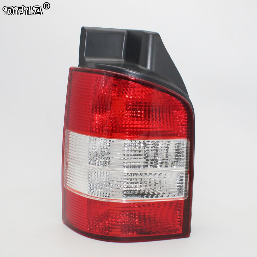 Left Side Rear Light For VW T5 Multivan Transporter 2003 2004 2005 2006 2007 2008 2009 Car-styling Rear Lamp Tail Light aftermarket free shipping motorcycle parts eliminator tidy tail for 2006 2007 2008 fz6 fazer 2007 2008b lack