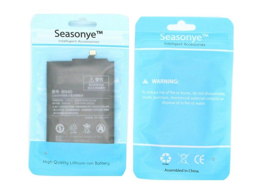 Seasonye 4000mAh BN40 / BN 40 Phone Replacement Battery For Xiaomi Redmi Redrice Hongmi 4 Pro Prime 3GB 3G RAM 32G ROM Edition