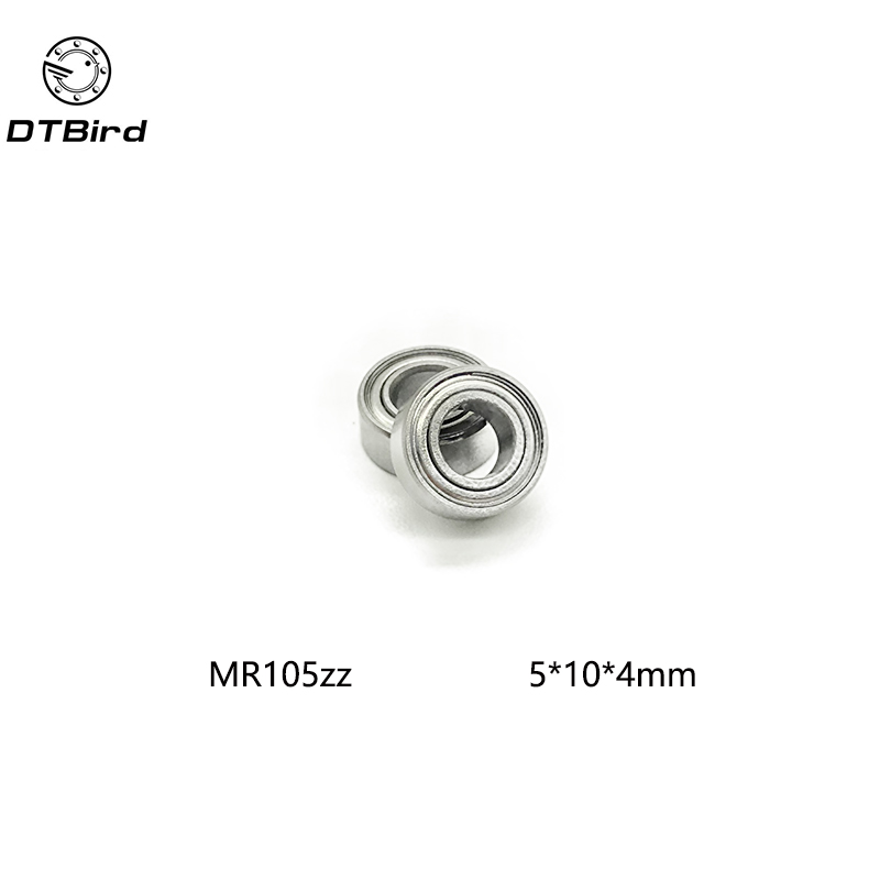 20pcs/lot MR105 MR105ZZ MR1052Z Metal Sealed Shielded Miniature Mini Deep Groove Bearing Ball 5x10x4mm <font><b>5*10*4</b></font> Free Shipping image
