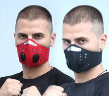 Protective mask riding running mountain smog dustproof activated carbon breathing shield