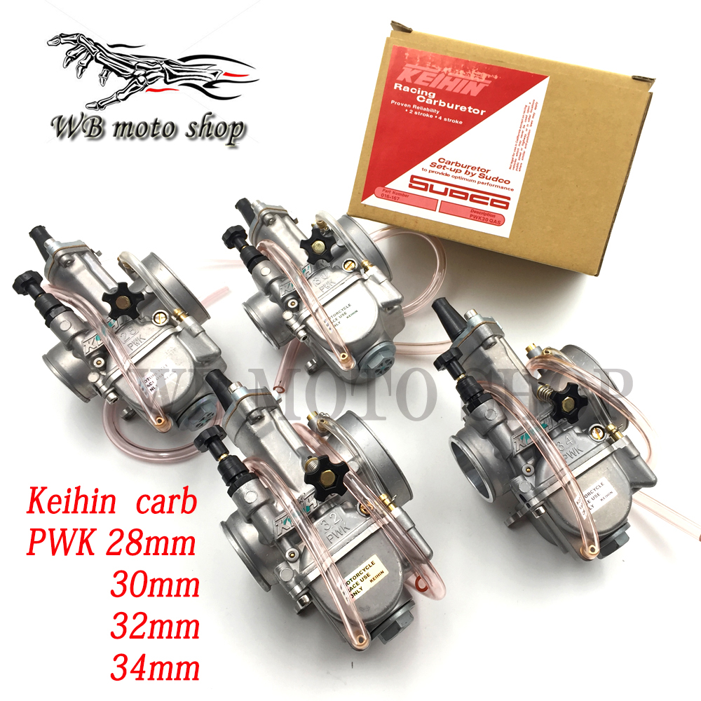 Maple 34mm PWK Carburetor For Honda Suzuki Kawasaki Yamaha KTM Dirt Bike Quad ATV PWK34 Maple leave