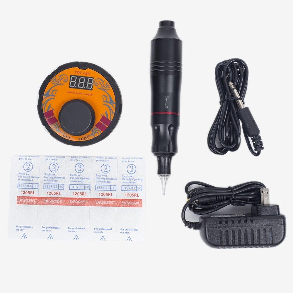 BiomaserK1-CTG-003-BlA/GOL tattoo machine kit intelligent digital tattoo permanent makeup machine kit device Swiss motor set футболка классическая printio bla bla car