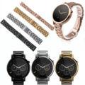16mm 20mm 22mm faixa de relógio de aço inoxidável para motorola moto 360 ª homens mulheres 42mm 46mm 42mm smart watch strap pulseira + ferramenta