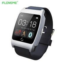 FLOVEME Smartwatch Mit Puls Gesundheit Tracker Pedometer Intelligente Elektronik Für iPhone Samsung HTC Xiaomi LG IOS Android Uhr