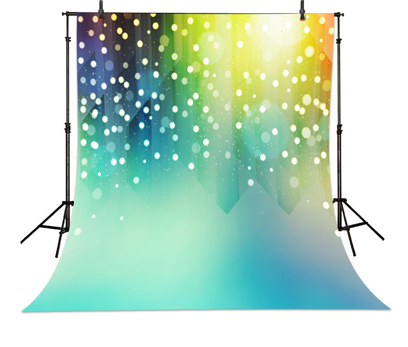 Light Colorful Dots Lights Bokeh backdrop Vinyl cloth Computer printed custom Photography Backgrounds 1 piece left or right 7 8 handlebar motorcycle hydraulic brake master cylinder clutch lever