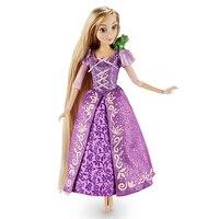 Рапунцель Classic Doll with Паскаль Новые Модные Великолепная Кукла фигурку модели подарок на день рождения игрушки для детей